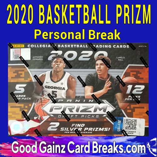 PERSONAL 2020/21 PANINI PRIZM DRAFT PICKS BASKETBALL MEGA BREAK