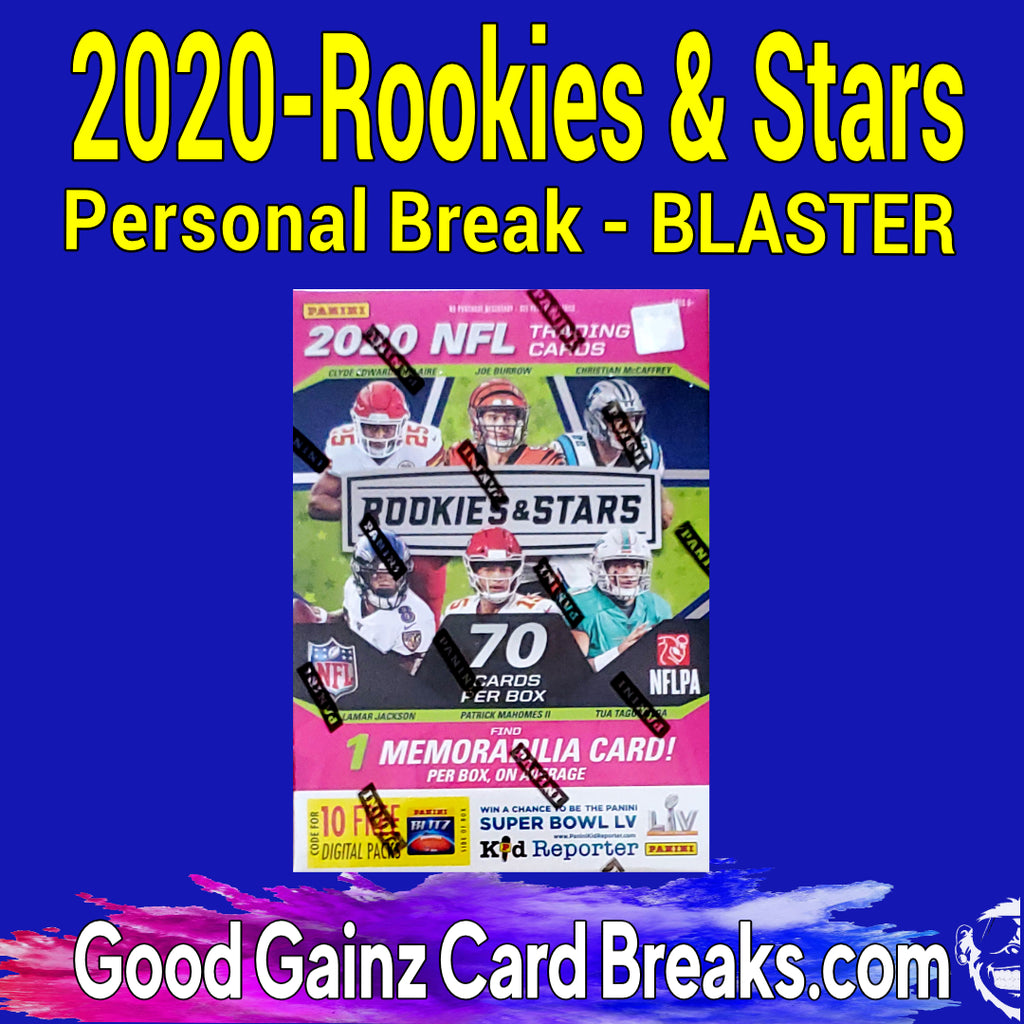 PERSONAL 2020 PANINI ROOKIES & STARS FOOTBALL BLASTER BREAK