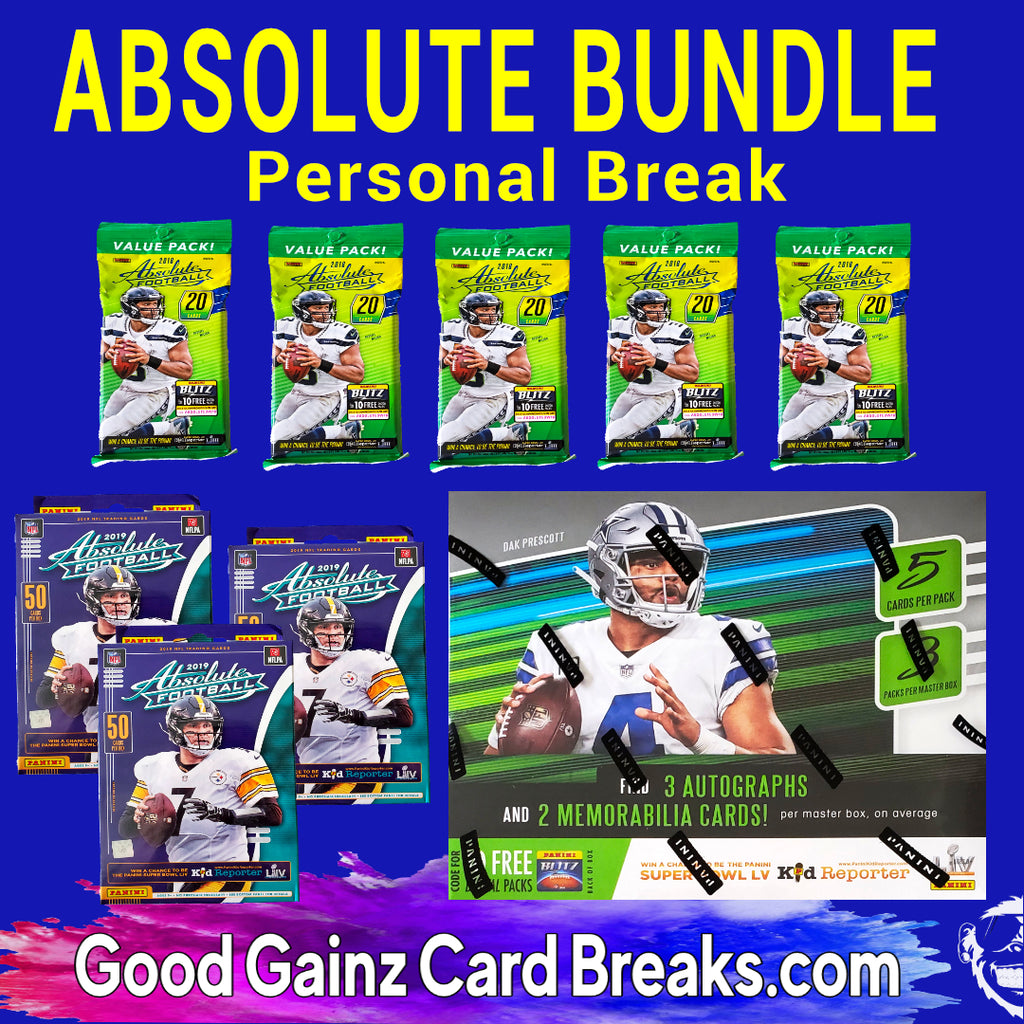PERSONAL 2018-20 ABSOLUTE FOOTBALL BUNDLE BREAK