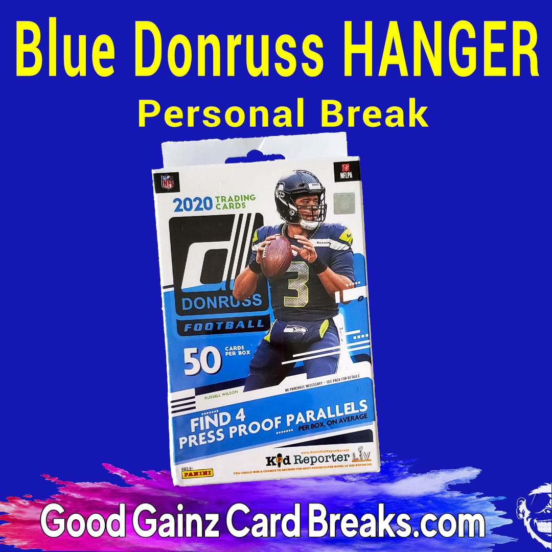 PERSONAL 2020 PANINI DONRUSS FOOTBALL (WALMART) HANGER BOX BREAK