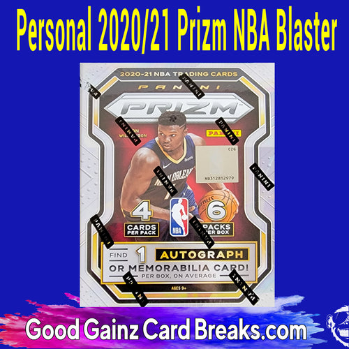 PERSONAL 2020/21 PANINI PRIZM BASKETBALL BLASTER BREAK