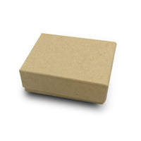 "1 7/8""Wx 1 1/4""Dx 5/8""H Kraft Cotton Filled Paper Box"