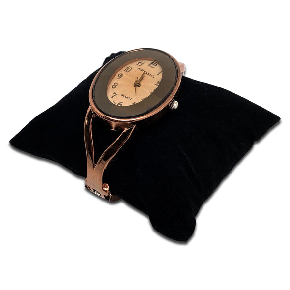 "2 1/4"" x 3"" Black Velvet Pillow Jewelry Display for Bracelet or Watch"