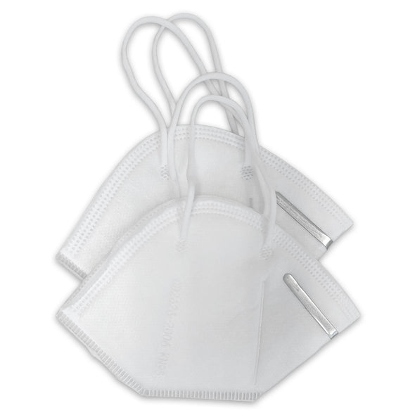 2 Pack KN95 Disposable 4-Layer Protective Respirator Mask