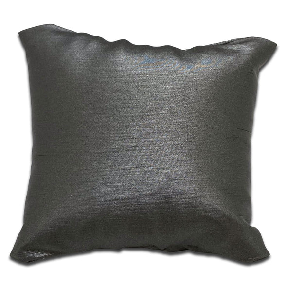 "3"" x 3"" Dark Gray Linen Pillow Jewelry Display for Bracelet or Watch"