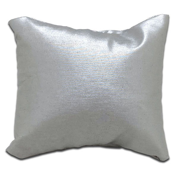 "3"" x 3"" Silver Pillow Jewelry Display for Bracelet or Watch"