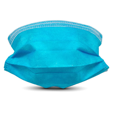 10 Pack Disposable Breathable Filter Face Masks in Retail Packaging