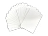 "Pack of 25pcs White Pre-Cut 8""x10"" for 5""x7"" Picture Mat Set"