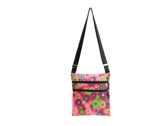4 Pack of Wave Pattern Crossbody Purses