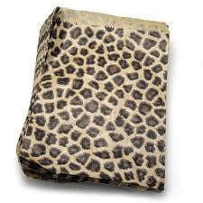 "8"" x 11"" Leopard Print Paper Gift Bags"
