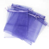 "6""x8"" Light Purple Organza Drawstring Pouches"
