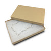 "7 1/8""Wx5 1/8""Dx1 1/8""H Kraft Cotton Box"