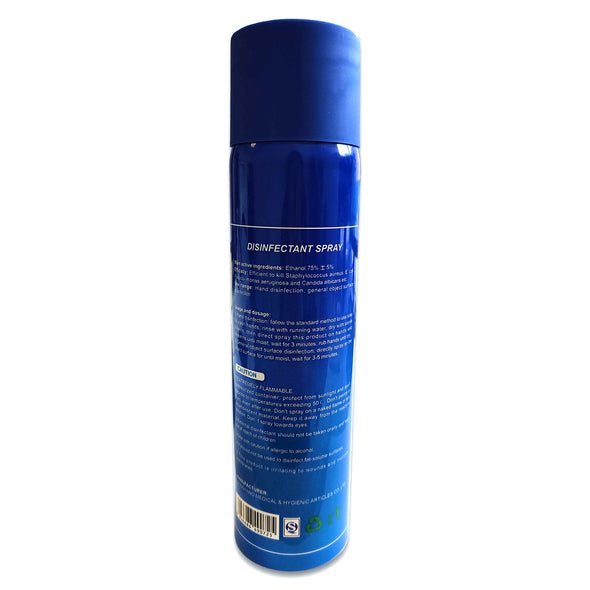 75% Alcohol Disinfectant Spray, 500 ml