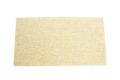 "14 1/8""Wx 7 5/8""H Burlap Padded Display Pad"