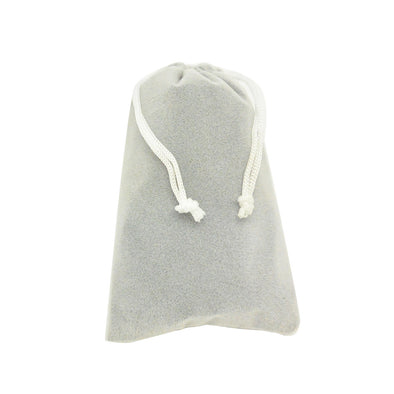 Medium Gray High Quality Velvet Pouch Bags Party Favors