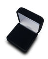 Deluxe Black Pendant Earring Jewelry Gift Box