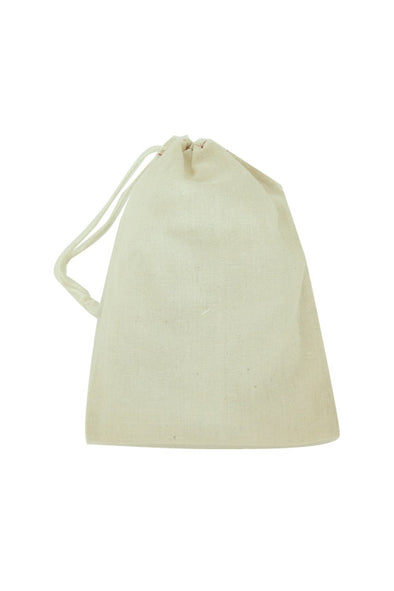 "8"" x 10"" Cotton Muslin Drawstring Reusable Bags"
