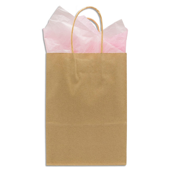Natural Kraft Paper Shopping Gift Bags