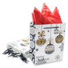 Premium Christmas Ornament Holiday Gift Bags