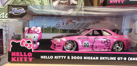 Hello Kitty 1/24th scale Chevy Lowrider model