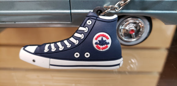 Chuck Taylor Blue KeyChain - Chicano Spot