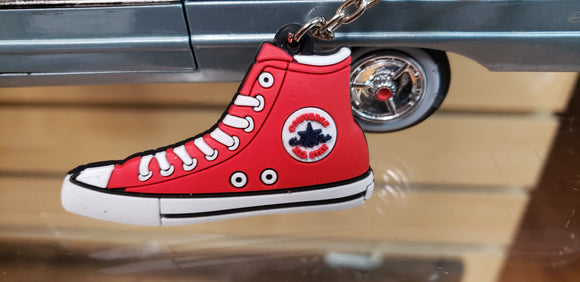 Chuck Taylor Red KeyChain - Chicano Spot