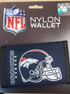 Denver Broncos Velcro Wallets - Chicano Spot