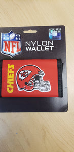 Kansas City Chiefs Velcro Wallets - Chicano Spot