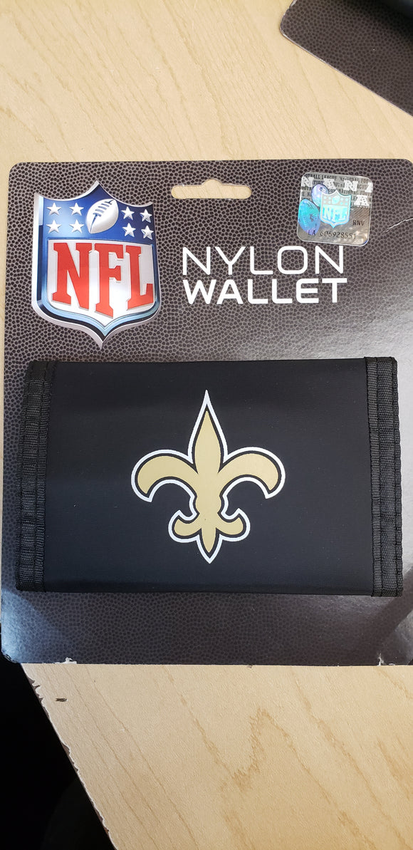 New Orleans Saints Velcro Wallets - Chicano Spot