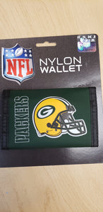 Green Bay Packers welcro Wallets - Chicano Spot