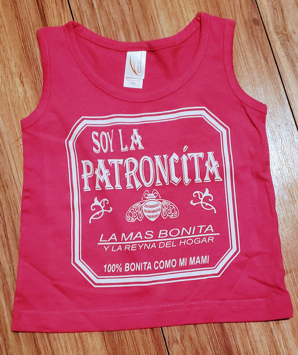 La Patroncita Toddler Tank Top - Chicano Spot