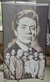American Me  Black & White 3x5 Foot Flag