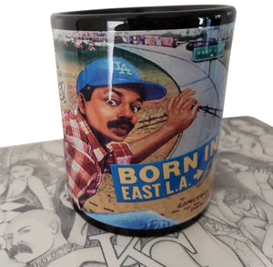 Born IN East LA Coffee Mug 11oz. - Chicano Spot