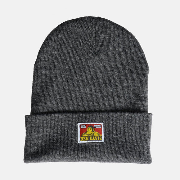 Beanie – Charcoal Heather - Chicano Spot