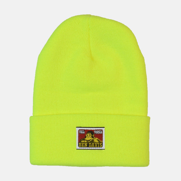 Beanie – Safety Yellow - Chicano Spot