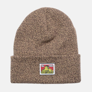 Beanie – Marled Brown - Chicano Spot