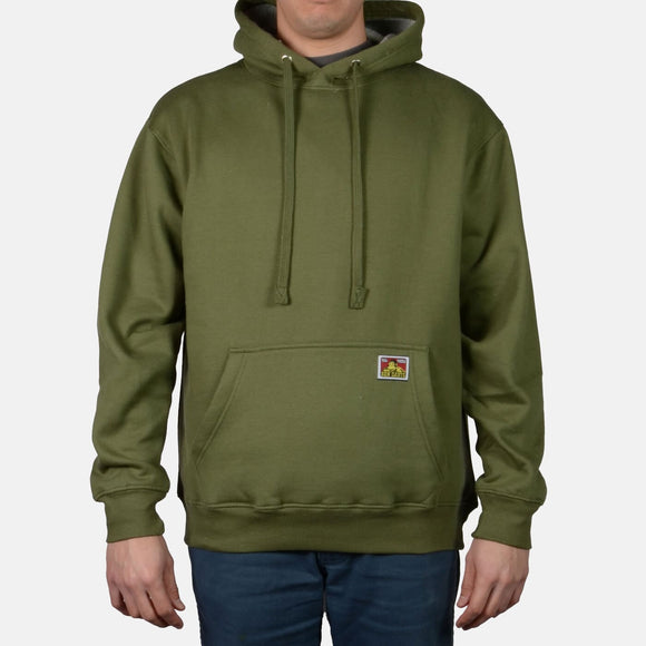 Heavyweight Hooded Sweatshirt – Olive - Chicano Spot