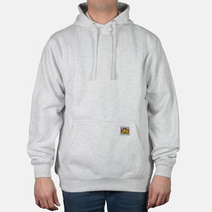 Heavyweight Hooded Sweatshirt – Ash Grey - Chicano Spot