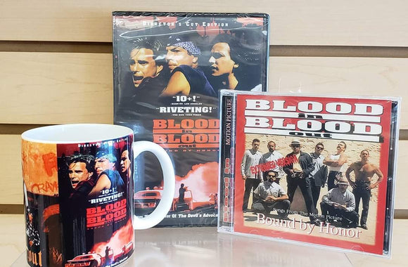 Blood in Blood Out  Set Dvd Mug and soundtrack