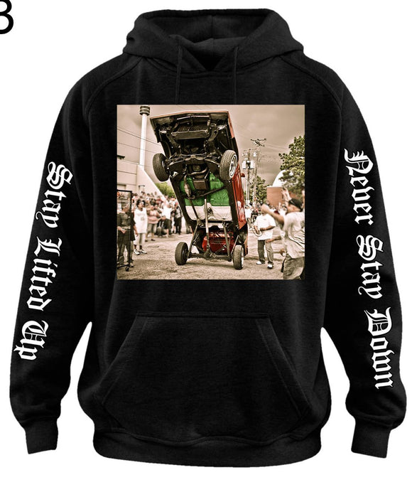 Mexican Lowrider Hopper  Hoodie