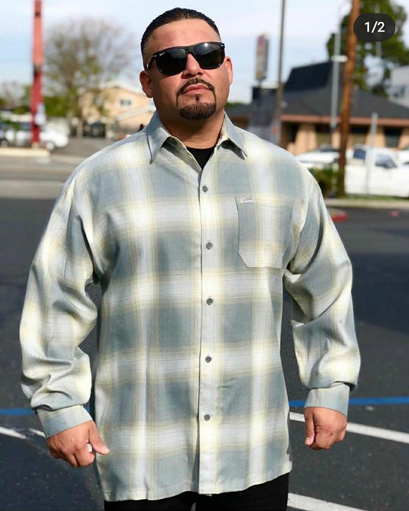 Long Sleeve Flannel - Chicano Spot