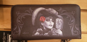 Catrina Zipper Wallet - Chicano Spot