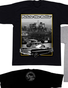 Picture me rolling Shaka Tees Tall - Chicano Spot