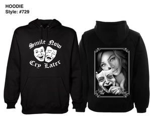 Smile Now Cry Later Chicana Hoodie