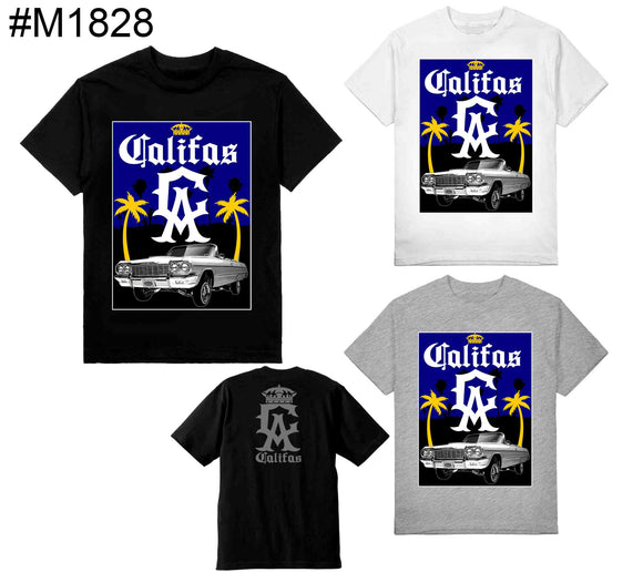 Califas LowLow Shaka Tees Tall Black Only