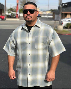 Short Sleeve Flannel - Chicano Spot