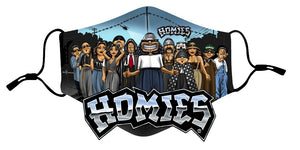Homies Smiley Group Protective Cover