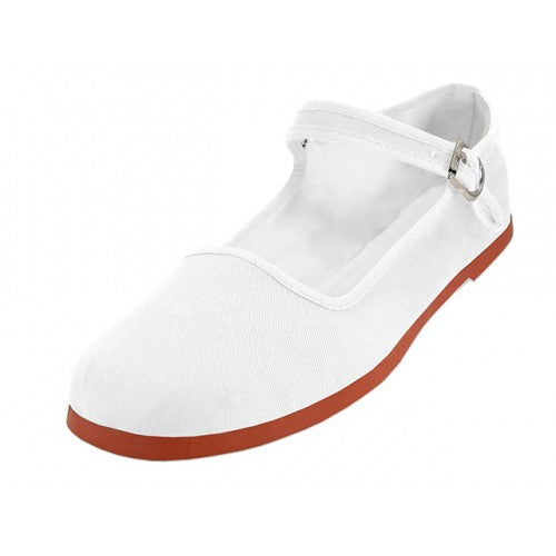 Mary Jane shoes White