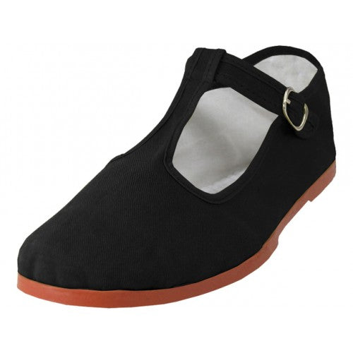 Mary Jane shoes all black with T-Strap