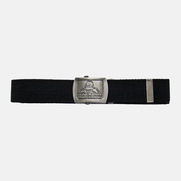 Cotton Webbing Belts - Black - Chicano Spot